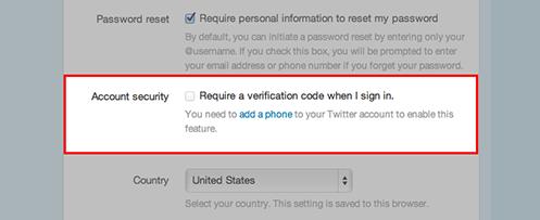 phone verified account twitter