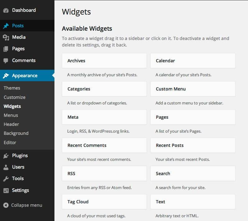 widgets-default