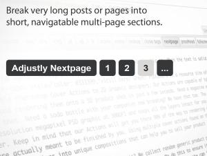 wordpress nextpage tag