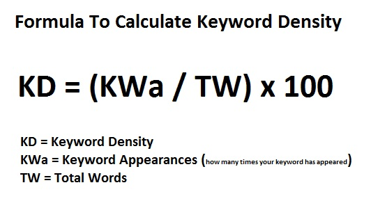 Keyword-Density-Formula