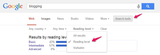 google-readability
