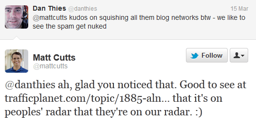 matt cutts on private blog network