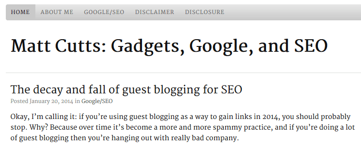 matt-cutts the decay and fall of guest blogging for seo