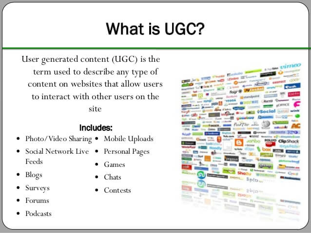 what is user generate content
