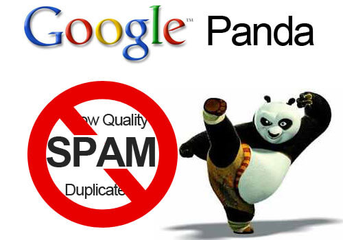 google panda penalty low quality content