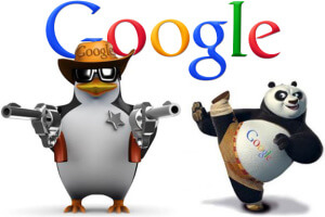 google penalty - panda and penguin