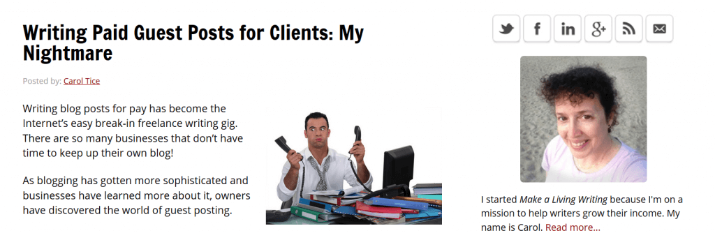Writing Paid Guest Posts for Clients_ My Nightmare