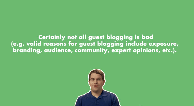 not all guest blog postings are bad